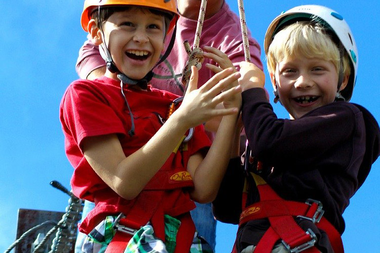 Adventure camp verano