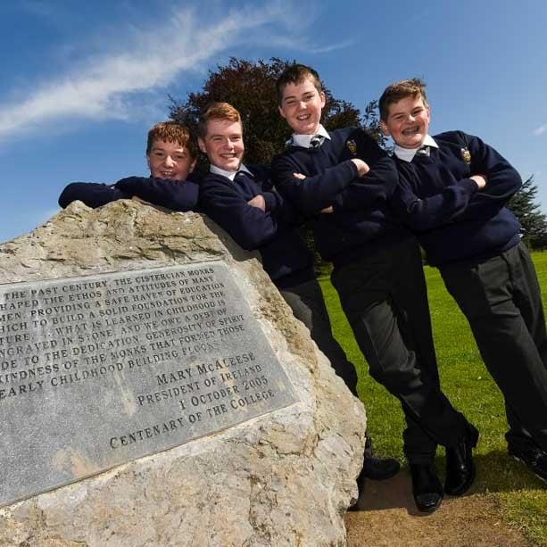 Estudiantes año escolar en Irlanda