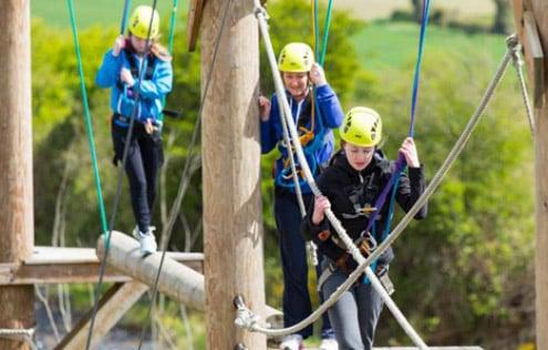 Campamento de aventura Irlanda