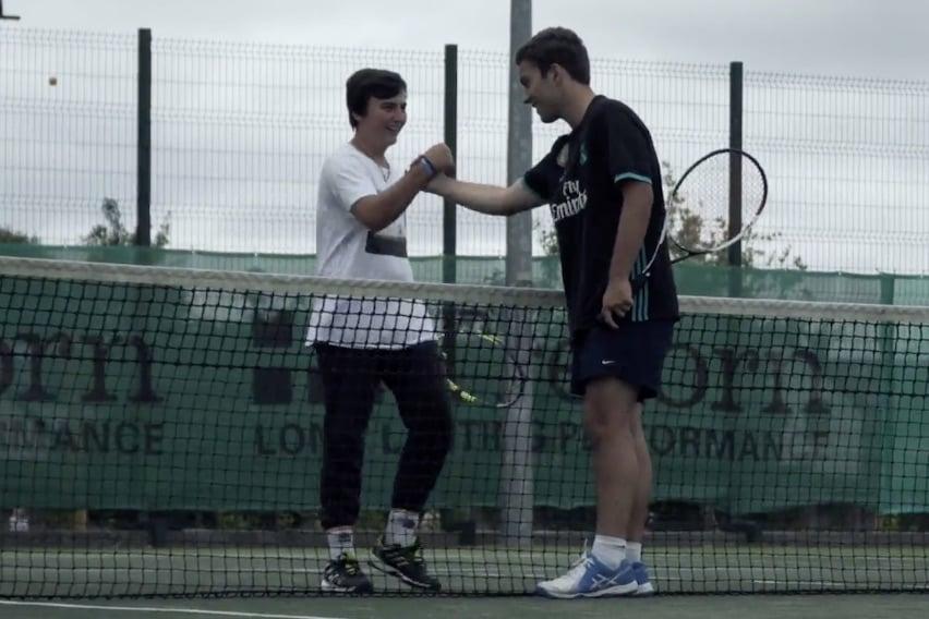 Tennis-students