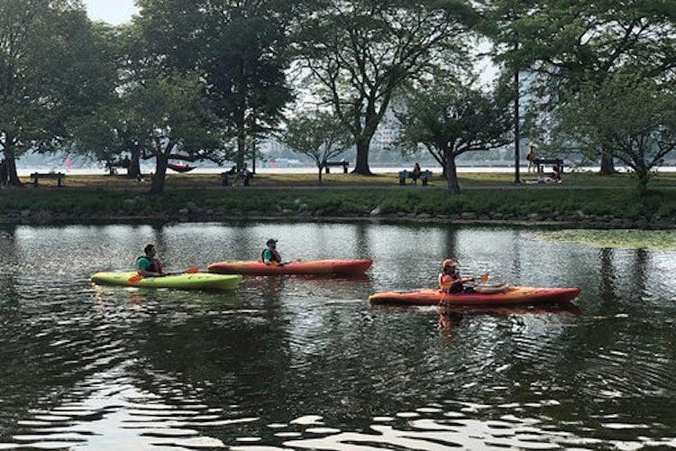 Kayak-Boston