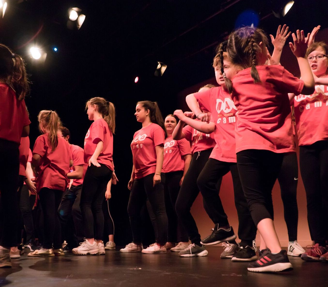Music, acting and dance