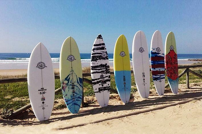 campamento surf verano