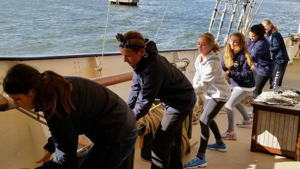 entrenamiento en náutica