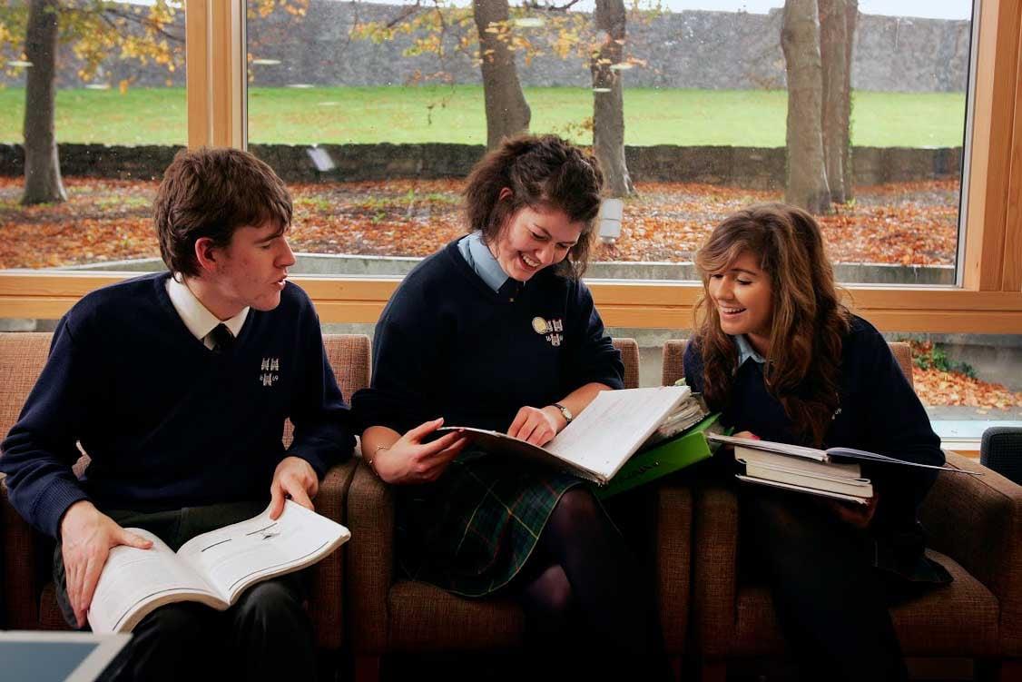 Estudiantes en Irlanda
