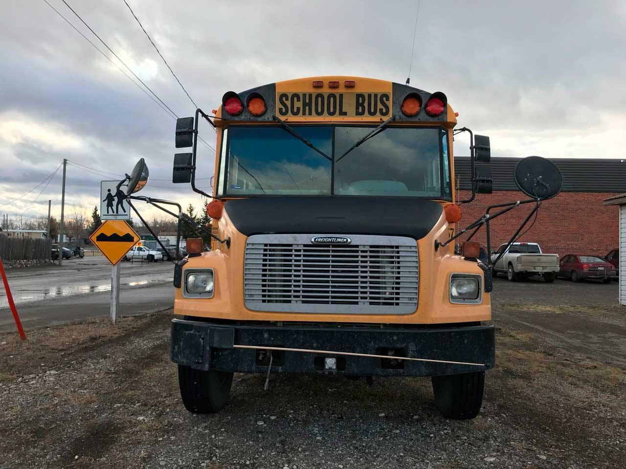 School bus in Canada