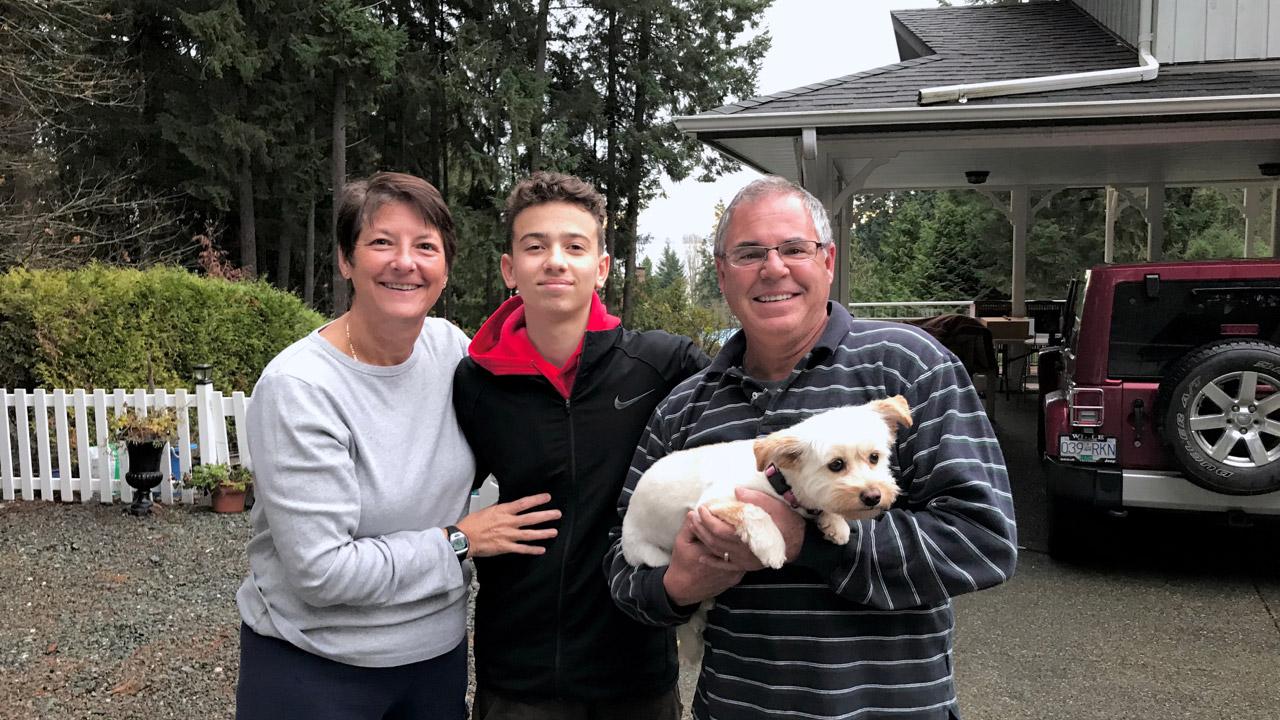 familia canadiense