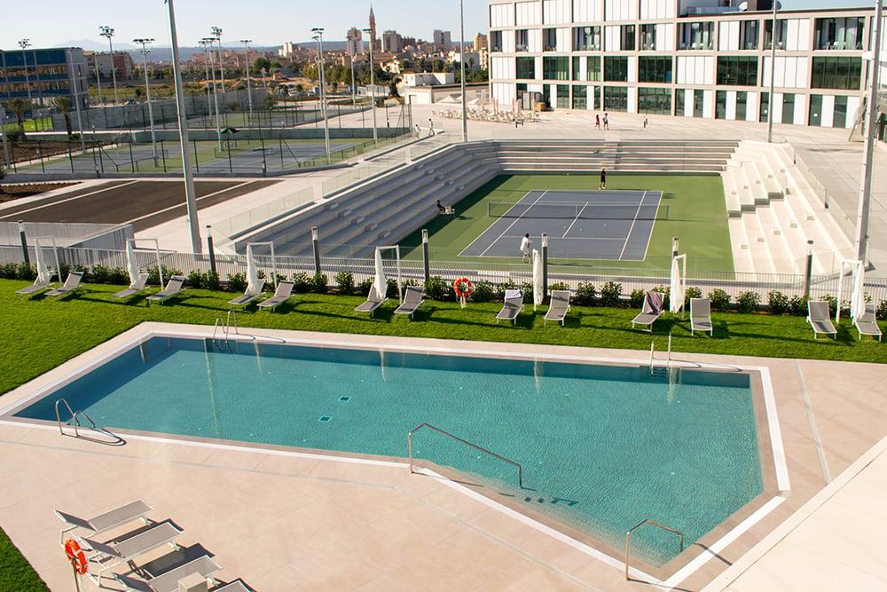 instalaciones Rafa Nadal Academy