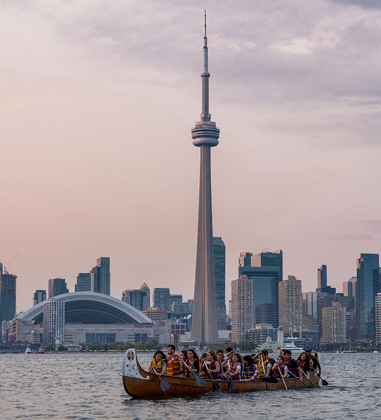 study and work in Toronto