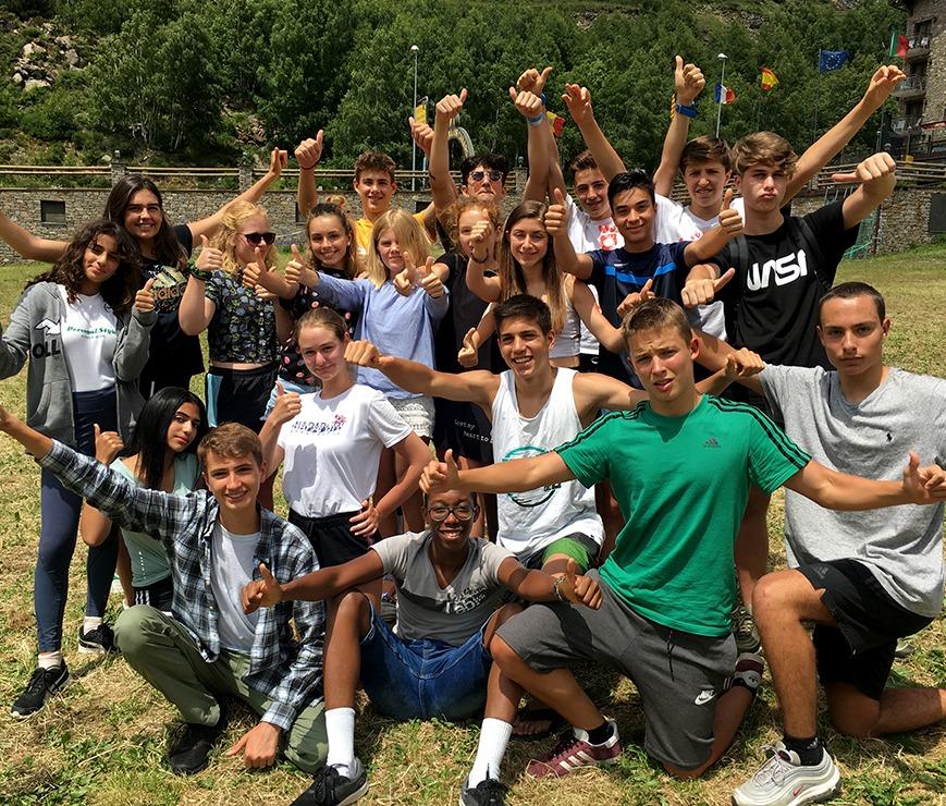 summer camp andorra sports
