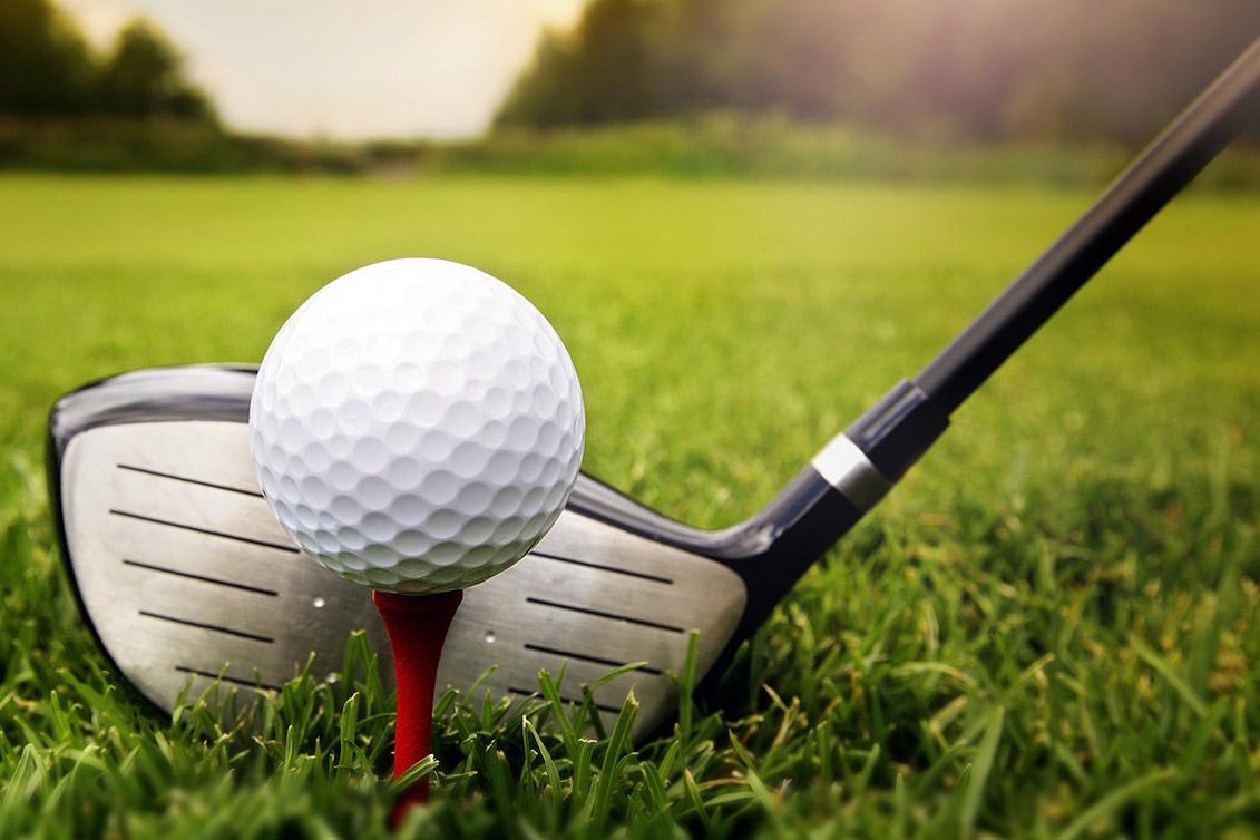 Golf con familia