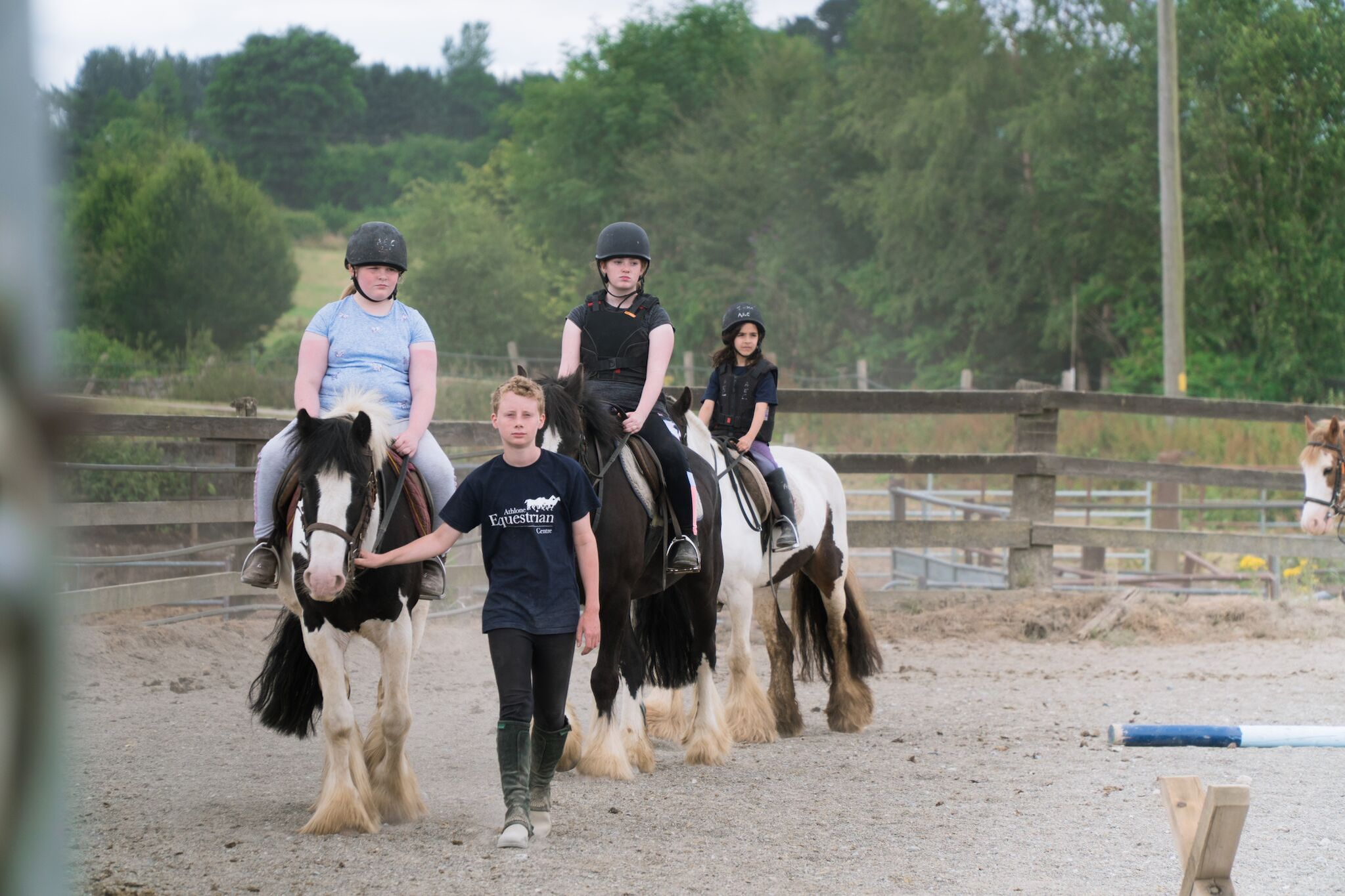 Estancia en familia con caballos
