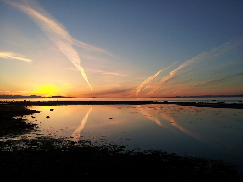 Qualicum- Sunset