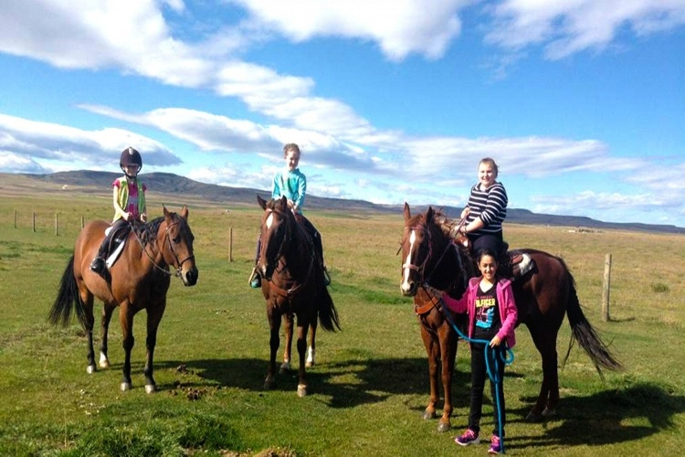 Equitación en el extranjero