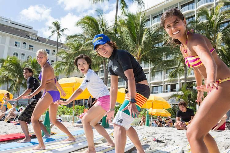 Inglés y surf en Hawai