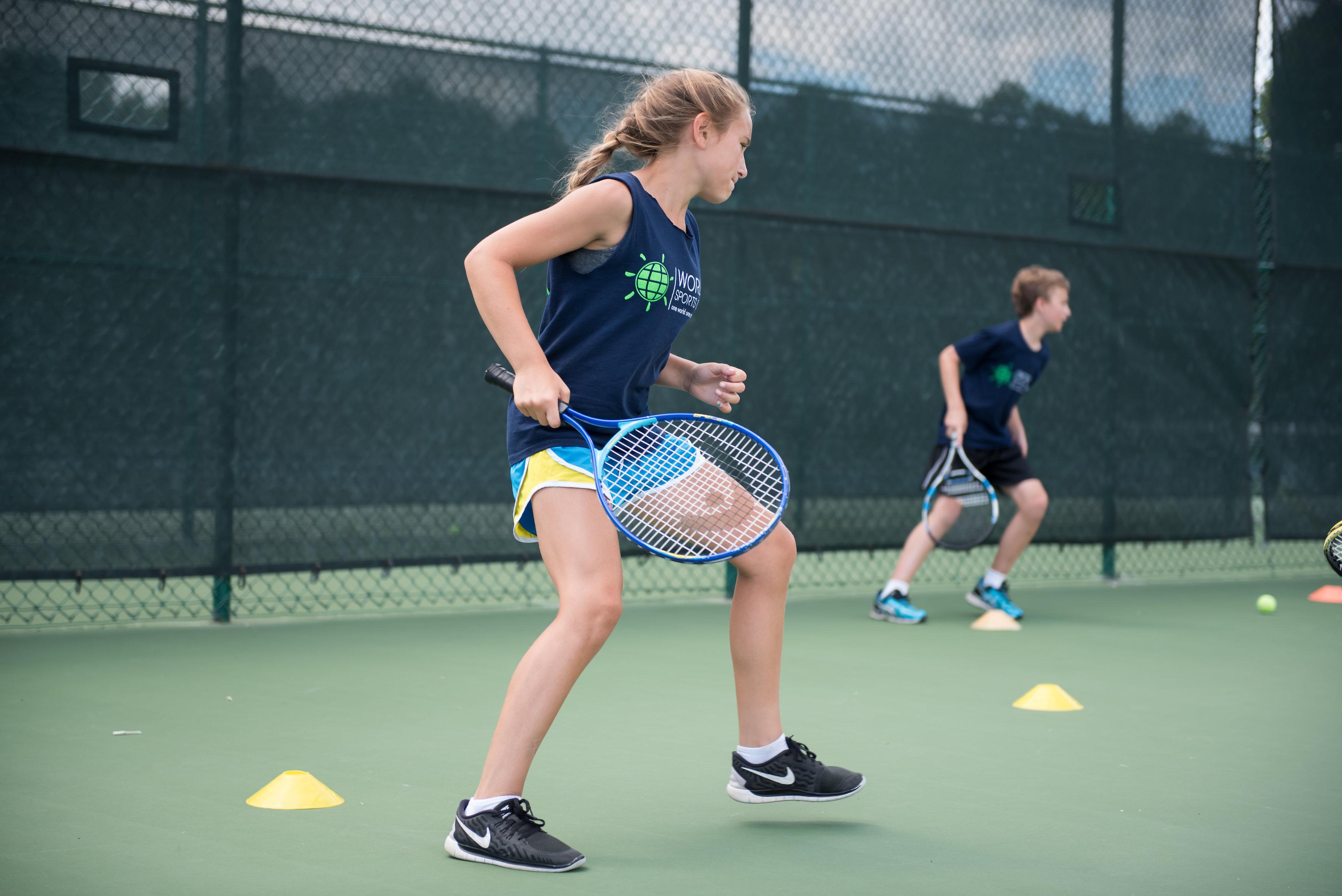 Campamento de tennis
